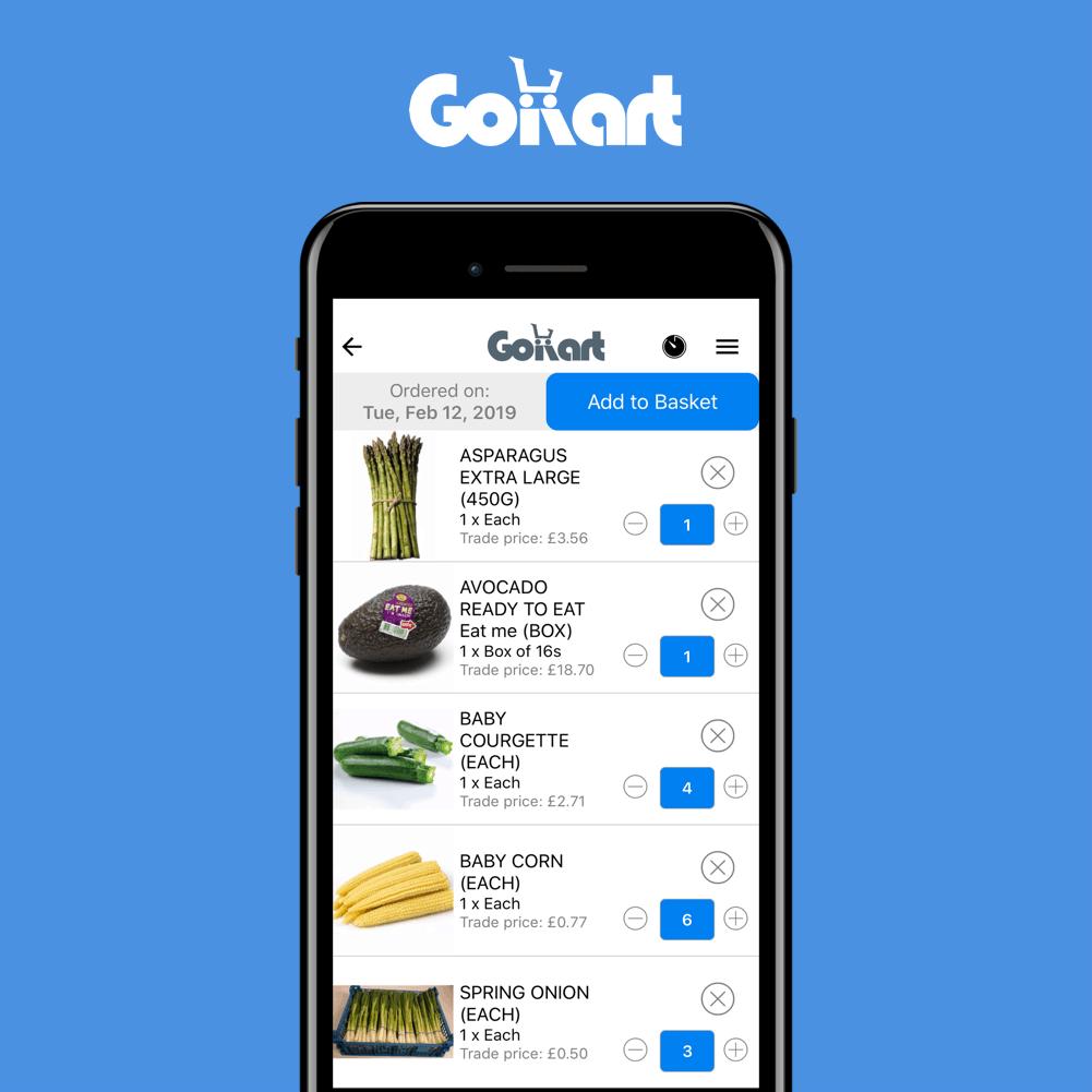 GoKart Food Supplier